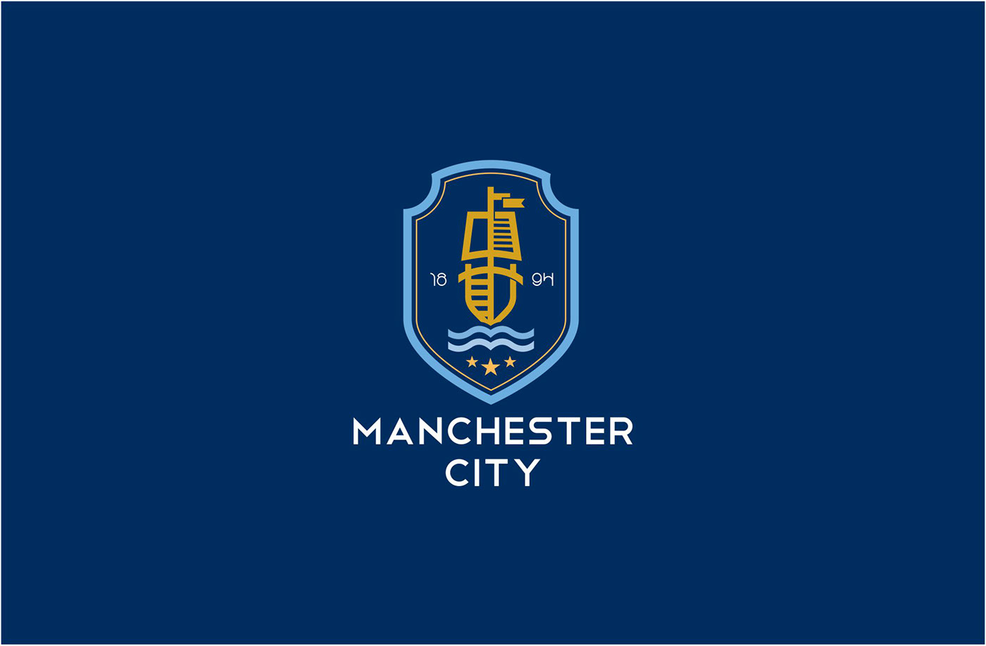 Hình ảnh logo Man City đẹp