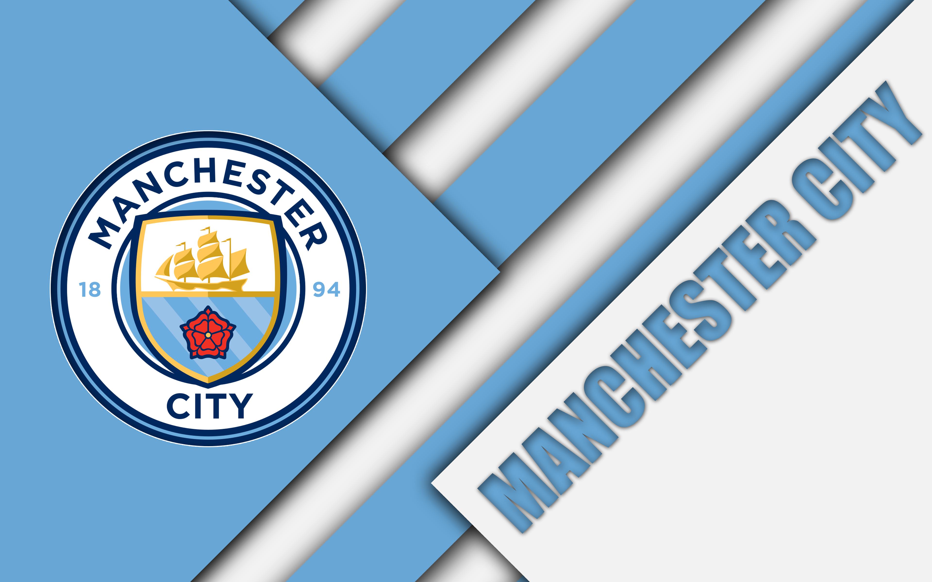Hình nền logo Man City
