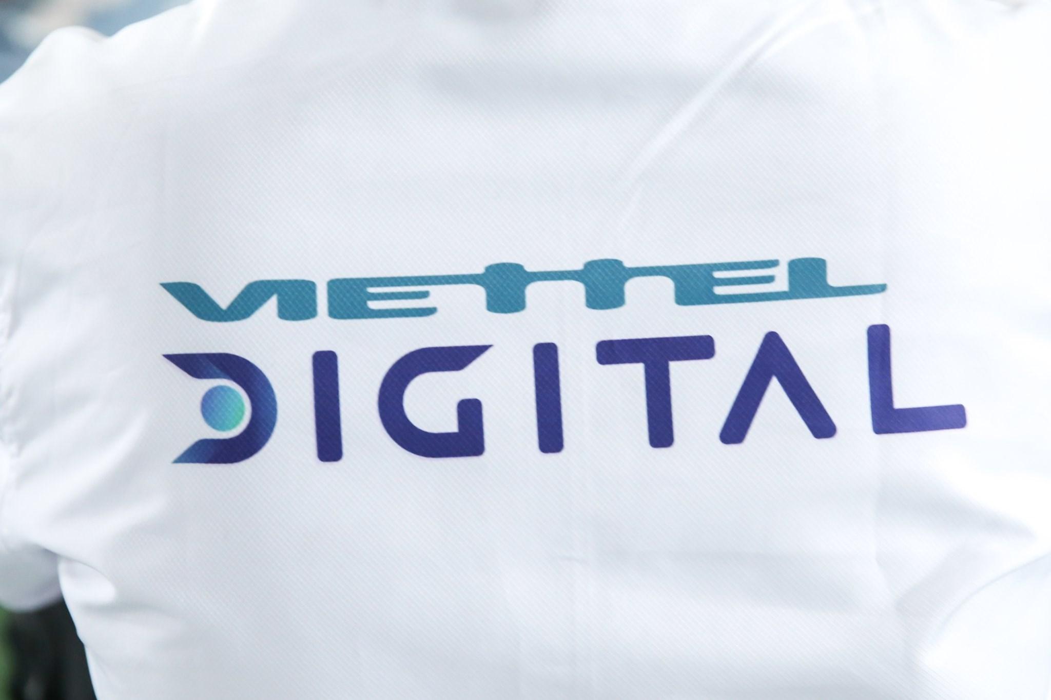 Logo áo Viettel Digital