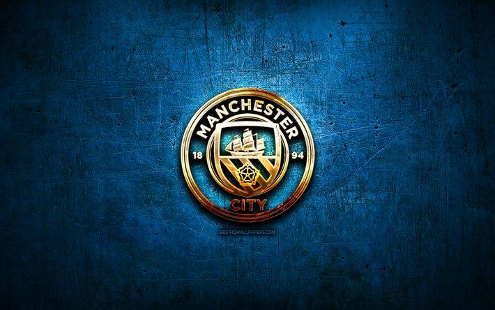Logo Man City vàng