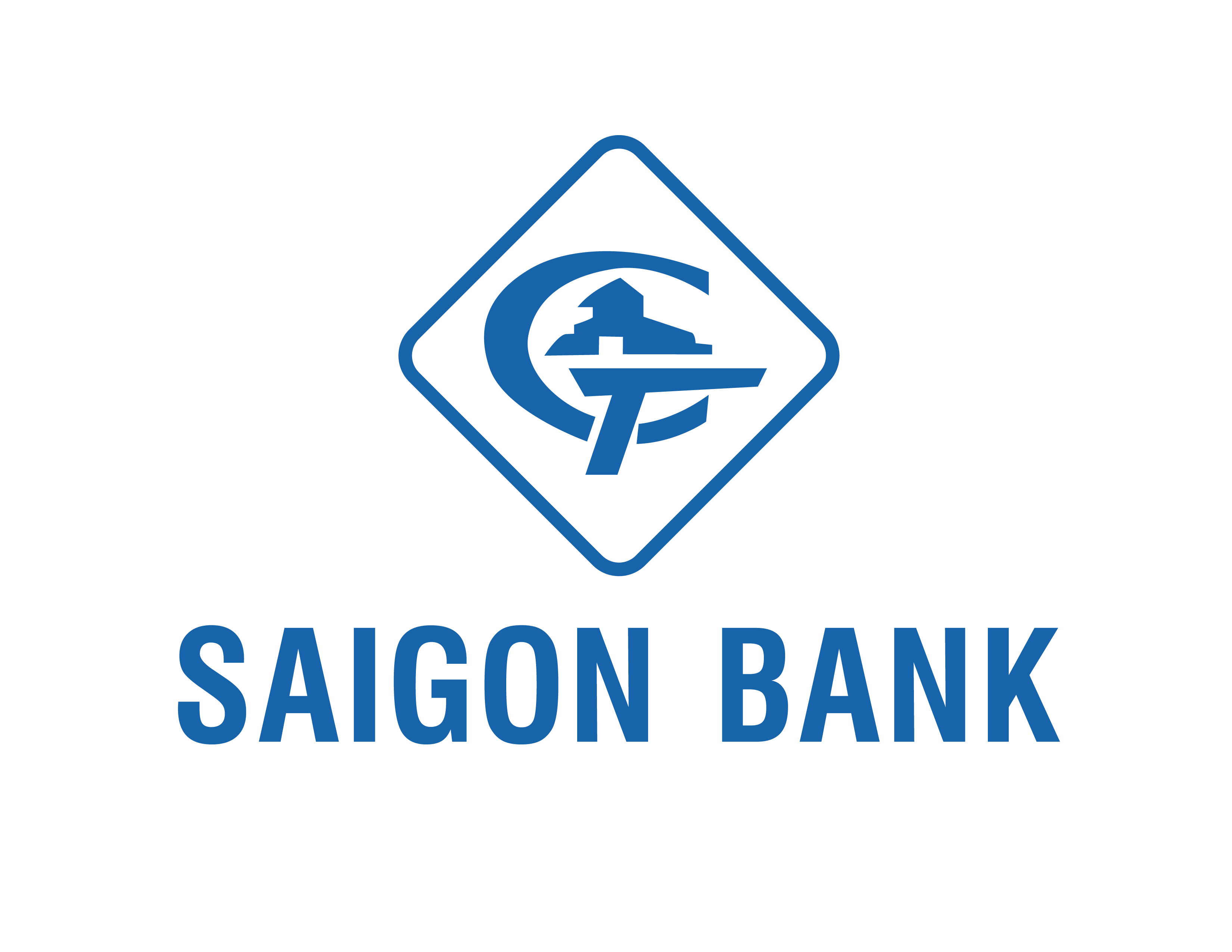 Logo ngân hàng SAIGONBANK