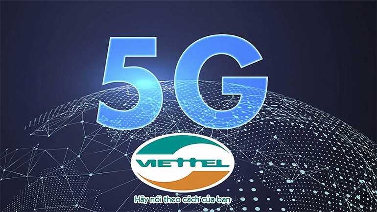Logo Viettel 5G đẹp