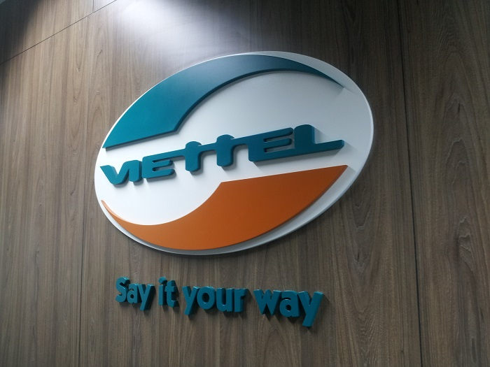 Logo Viettel cửa hàng