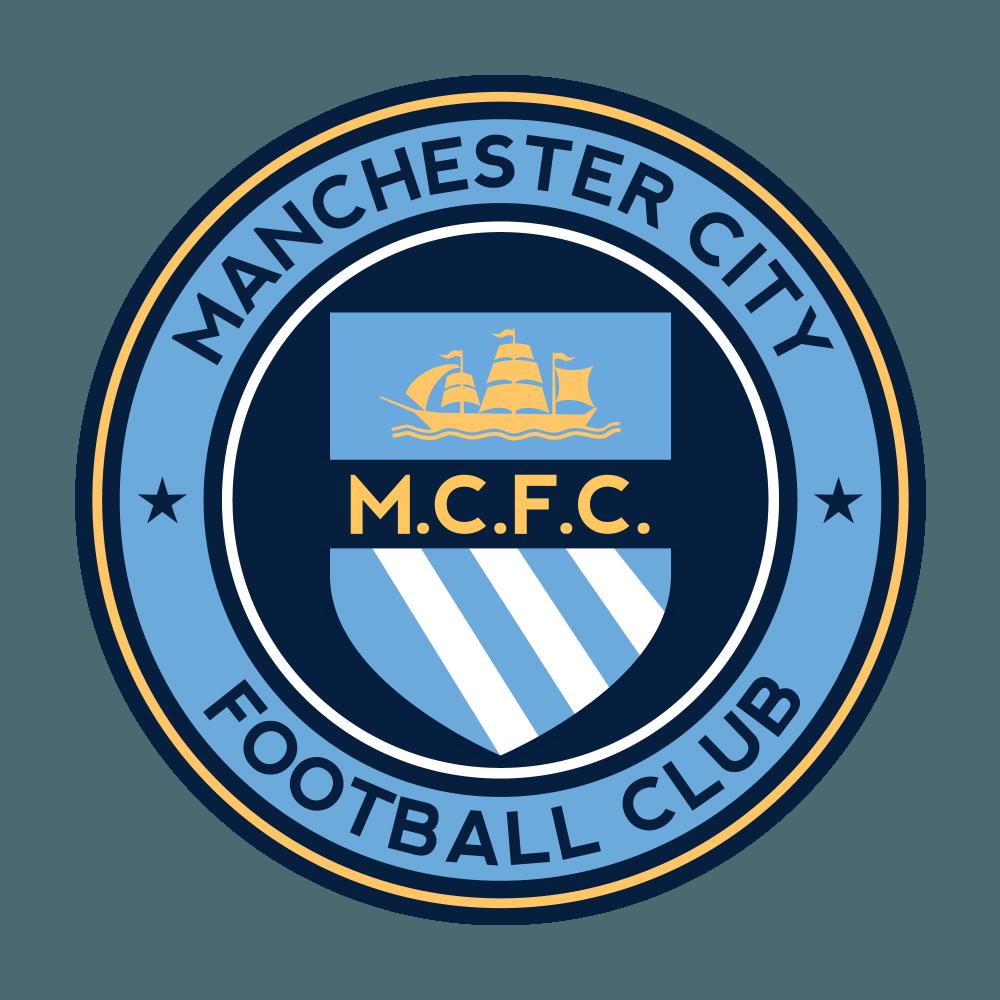Mẫu logo Man City đẹp