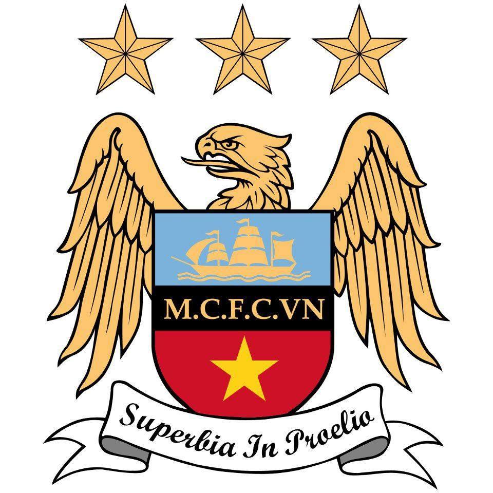 Mẫu logo Man City VN