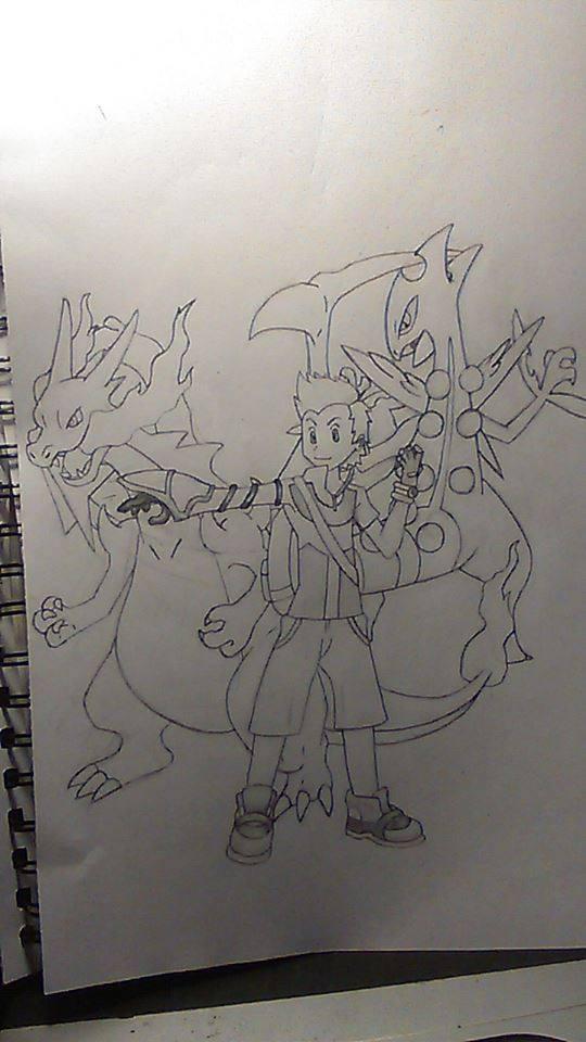 Ảnh vẽ nhân vật pokemon