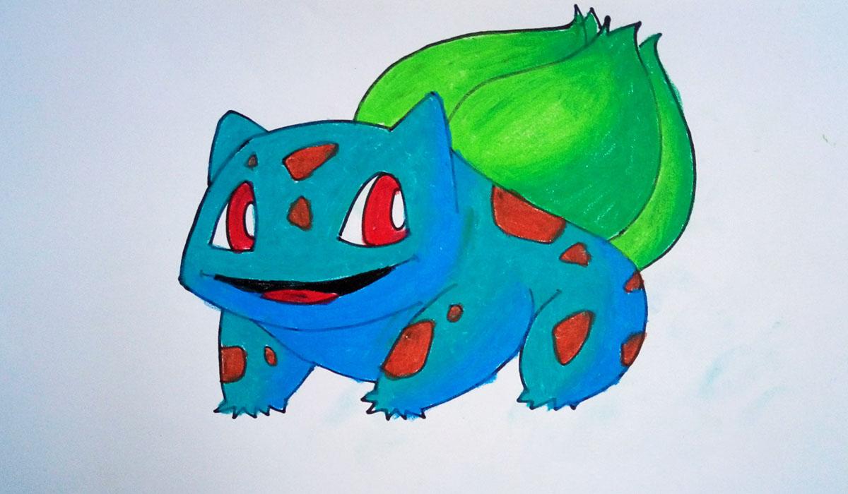 Ảnh vẽ pokemon đẹp