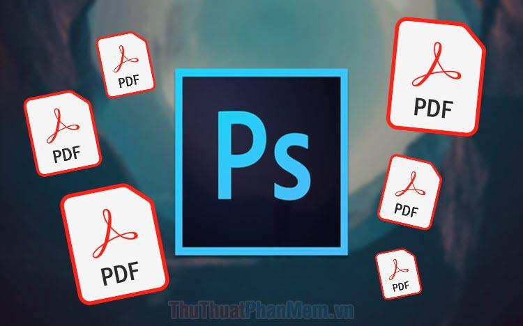 Cách xuất file PDF trong Photoshop