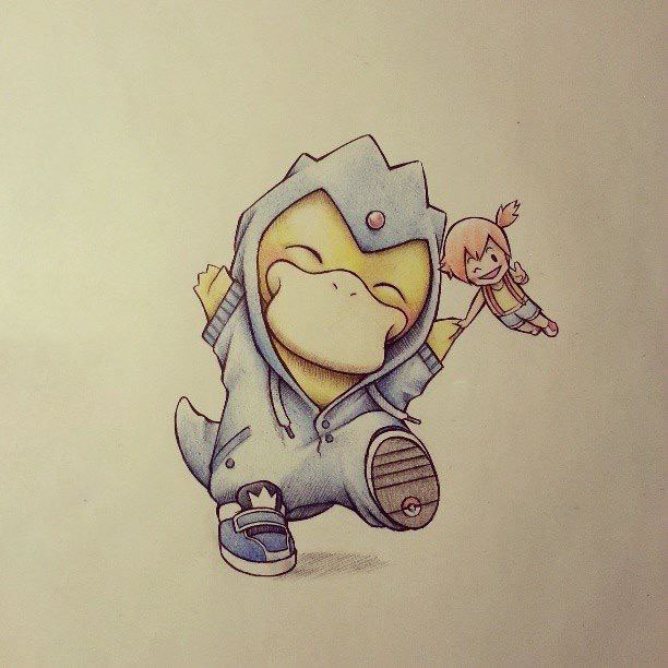 Hình vẽ 3d pokemon