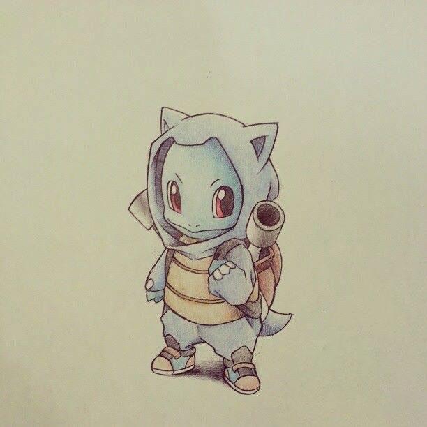 Hình vẽ pokemon chibi