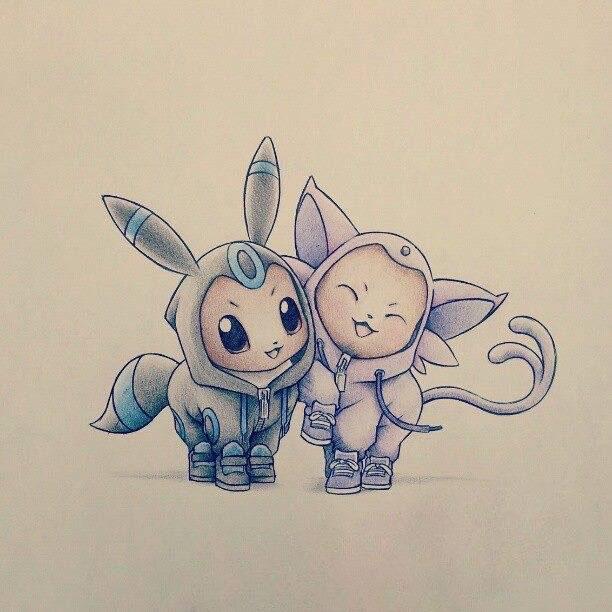 Hình vẽ pokemon cute nhất