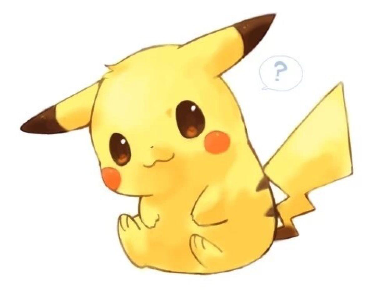 Hình vẽ pokemon cute