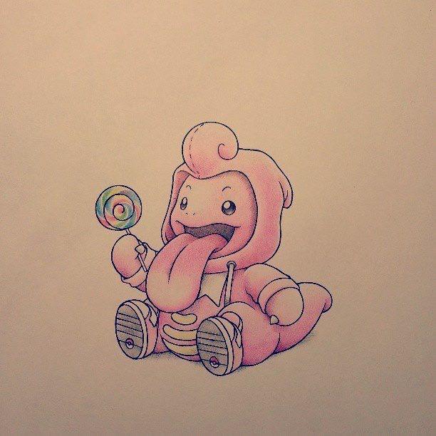 Hình vẽ pokemon đáng yêu