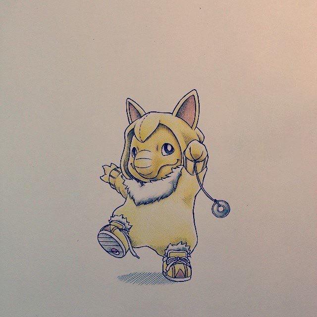 Hình vẽ pokemon đẹp và dễ thương