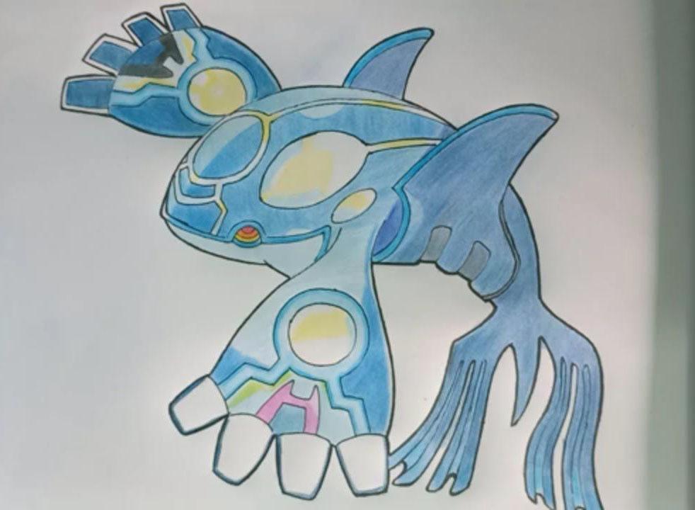 Hình vẽ pokemon độc đáo