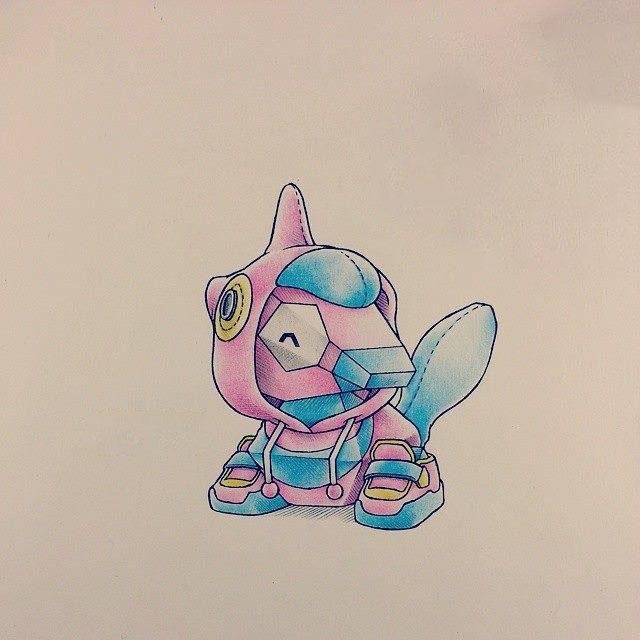 Hình vẽ pokemon hiếm đẹp