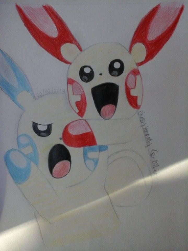 Hình vẽ về pokemon