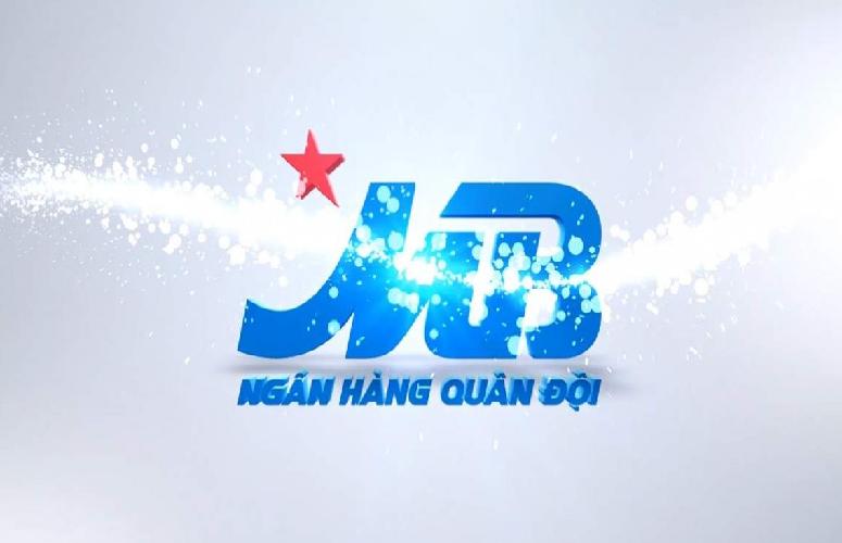 Logo MB bank lấp lánh