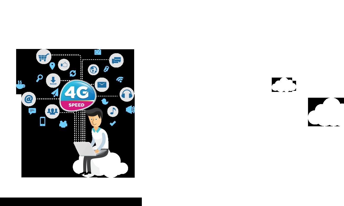 Logo Vinaphone 4G đẹp