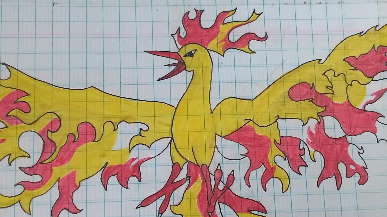 Mẫu hình vẽ pokemon