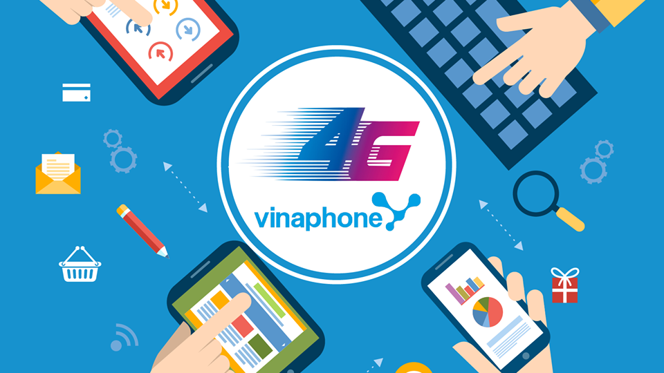 Mẫu logo 4G vinaphone