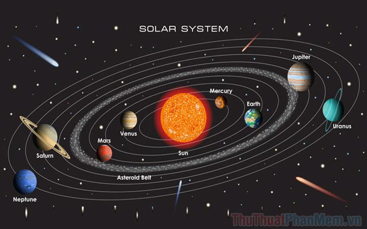 Phần mềm mô phỏng hệ mặt trời tốt nhất