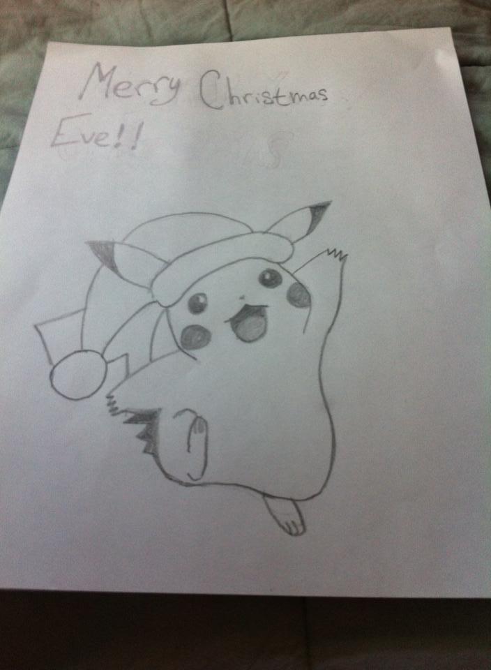 Tranh vẽ pikachu pokemon