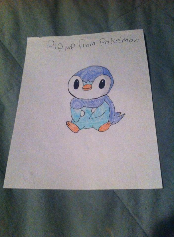 Tranh vẽ pokemon cute