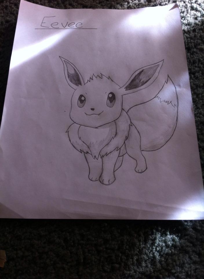 Tranh vẽ pokemon dễ thương