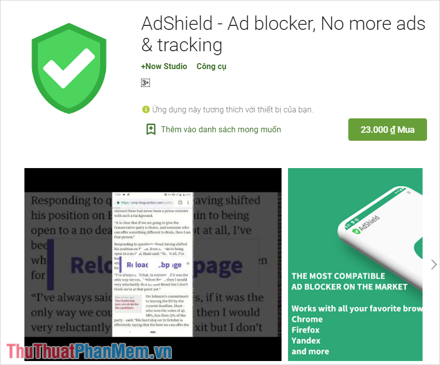 AdShield - Ad blocker