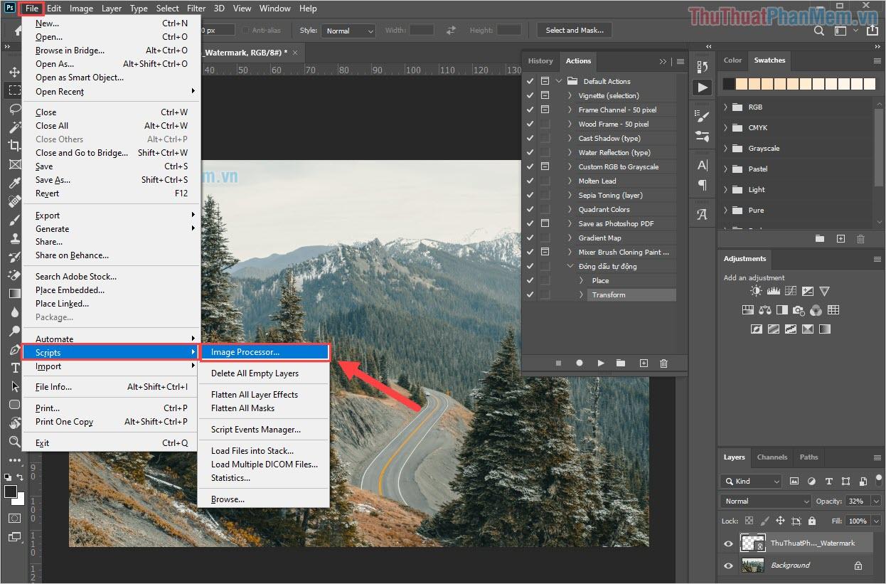 Chọn Image Processor