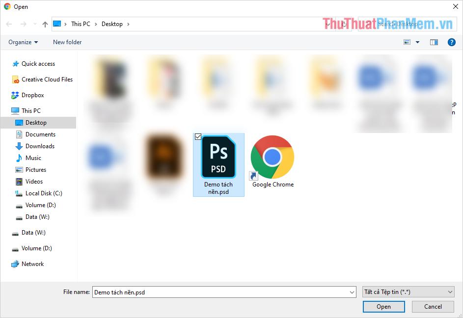Bạn có thể chọn nhiều file để rút ngắn thời gian