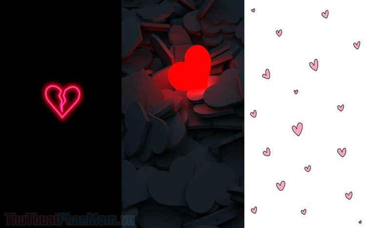 Ảnh nền hình trái tim