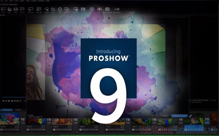 Cách tua nhanh Video trong Proshow Producer