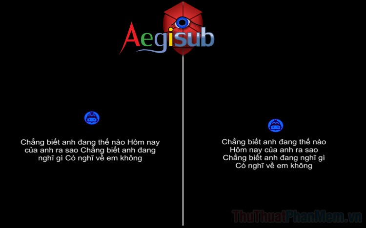 Cách xuống dòng trong Aegisub