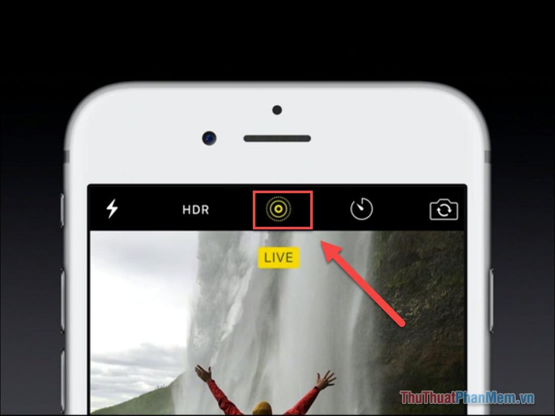 Bạn hãy tự tạo hình nền live cho riêng mình bằng Máy ảnh