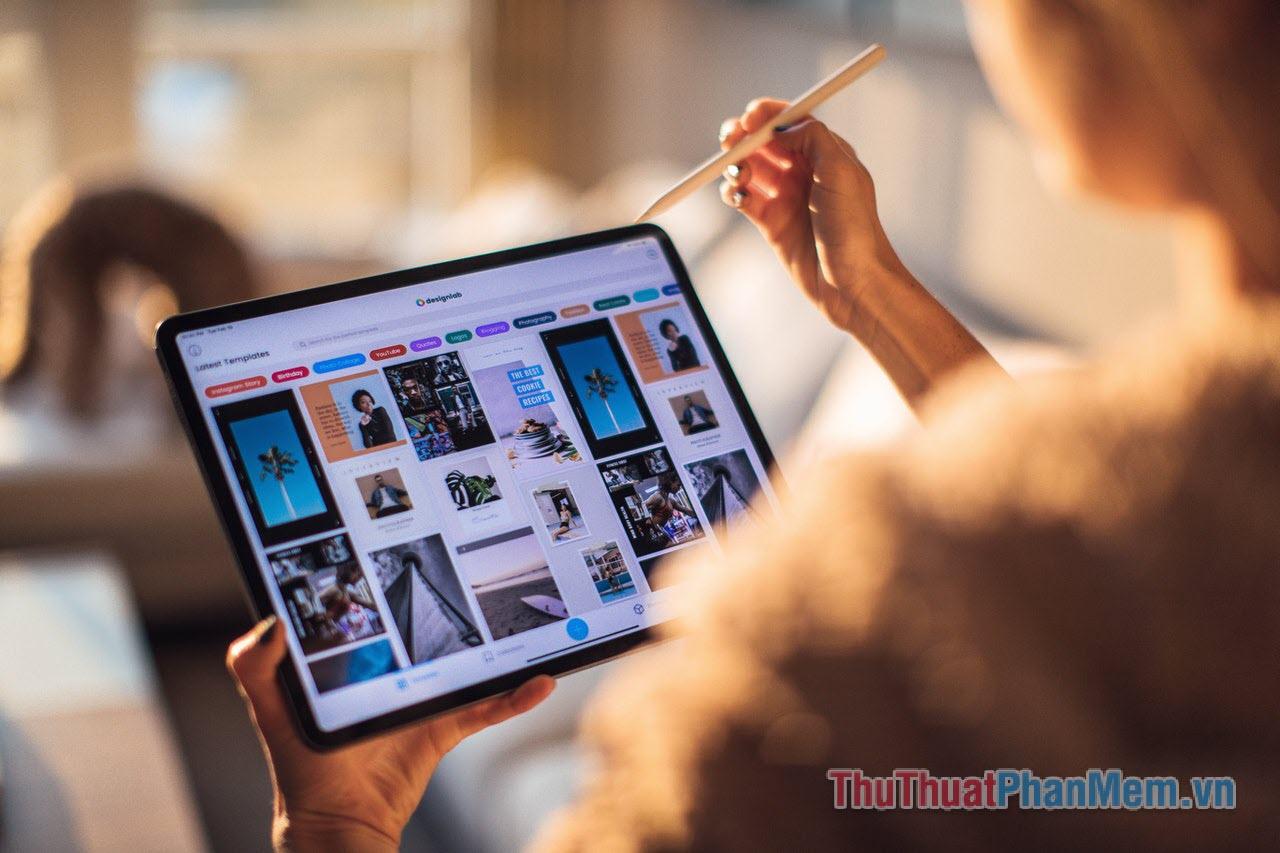 iPad – dựa vào thời gian iPad được làm mới