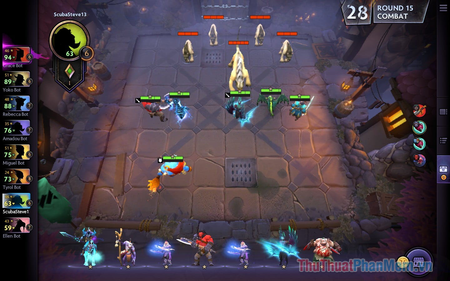 Dota Underlords (Android)