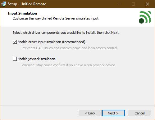 Bạn có thể cài đặt joystick simulation để thay thế cho bàn di chuột trên laptop Windows