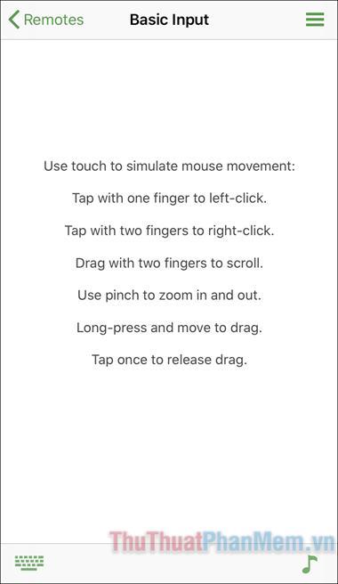 Hướng dẫn điều khiển chuột máy tính