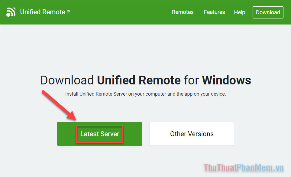 Tải Unified Remote Server
