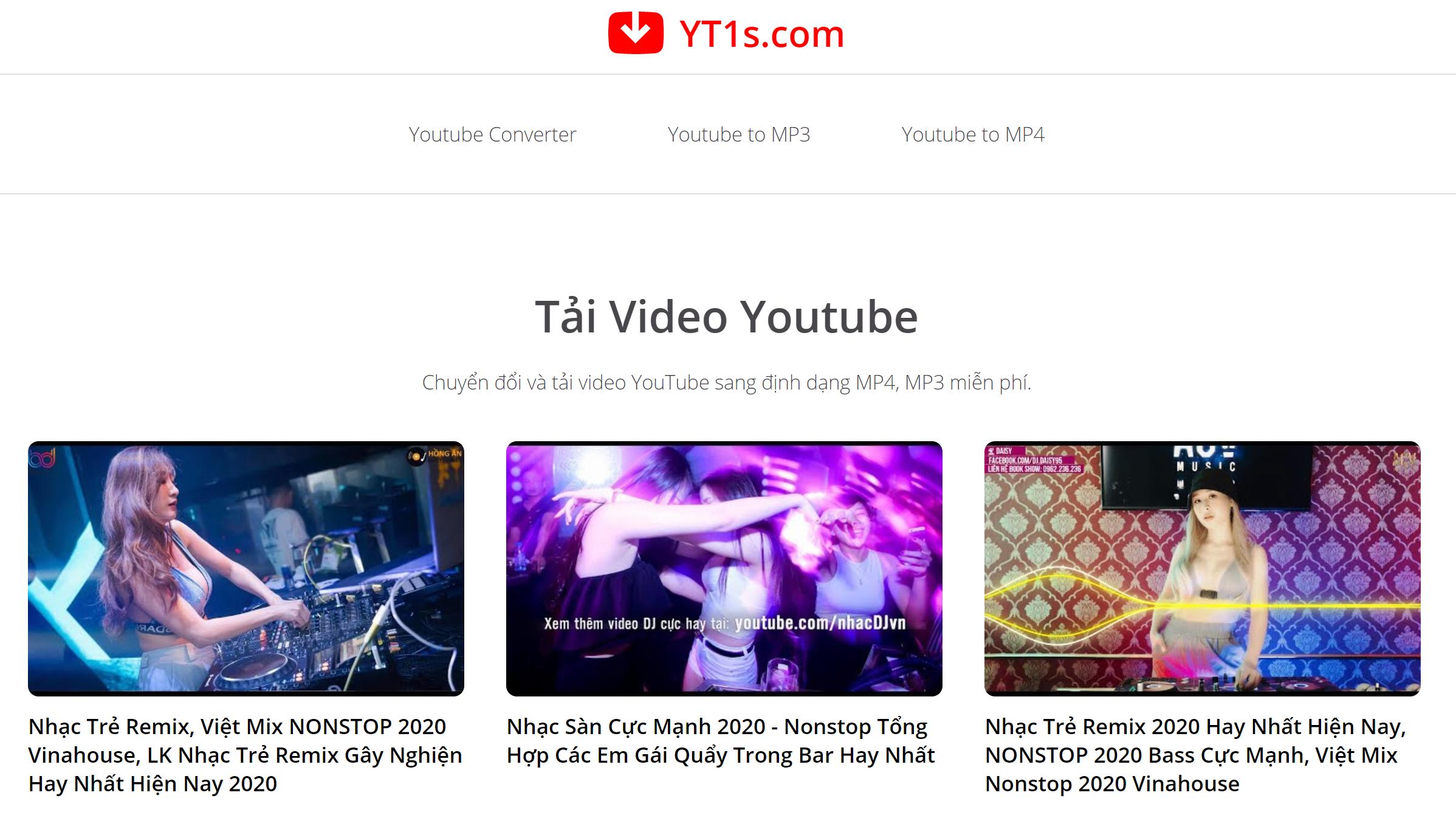 Bạn cũng có thể nhập từ khóa vào hộp tìm kiếm rồi ấn Enter để tìm video cần tải về
