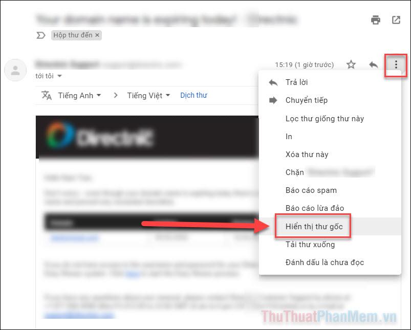 Cách tìm địa chỉ IP gốc của một Email
