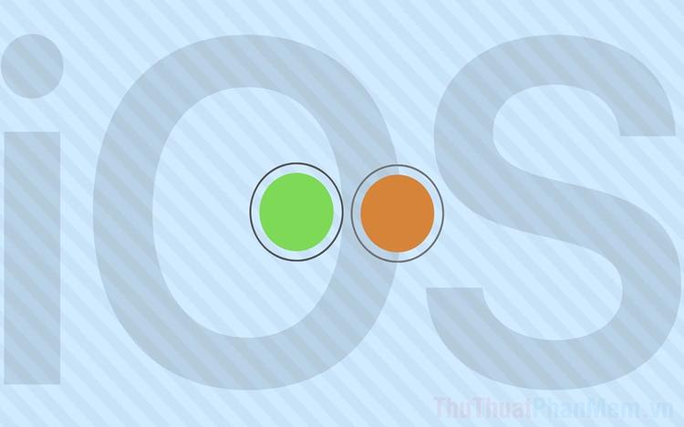 Chấm cam và xanh lá trên màn hình iPhone chạy IOS 14 là gì?