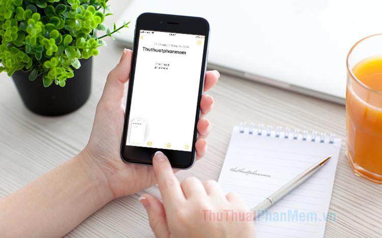 Chèn chữ, kí tự vào ảnh trên iPhone