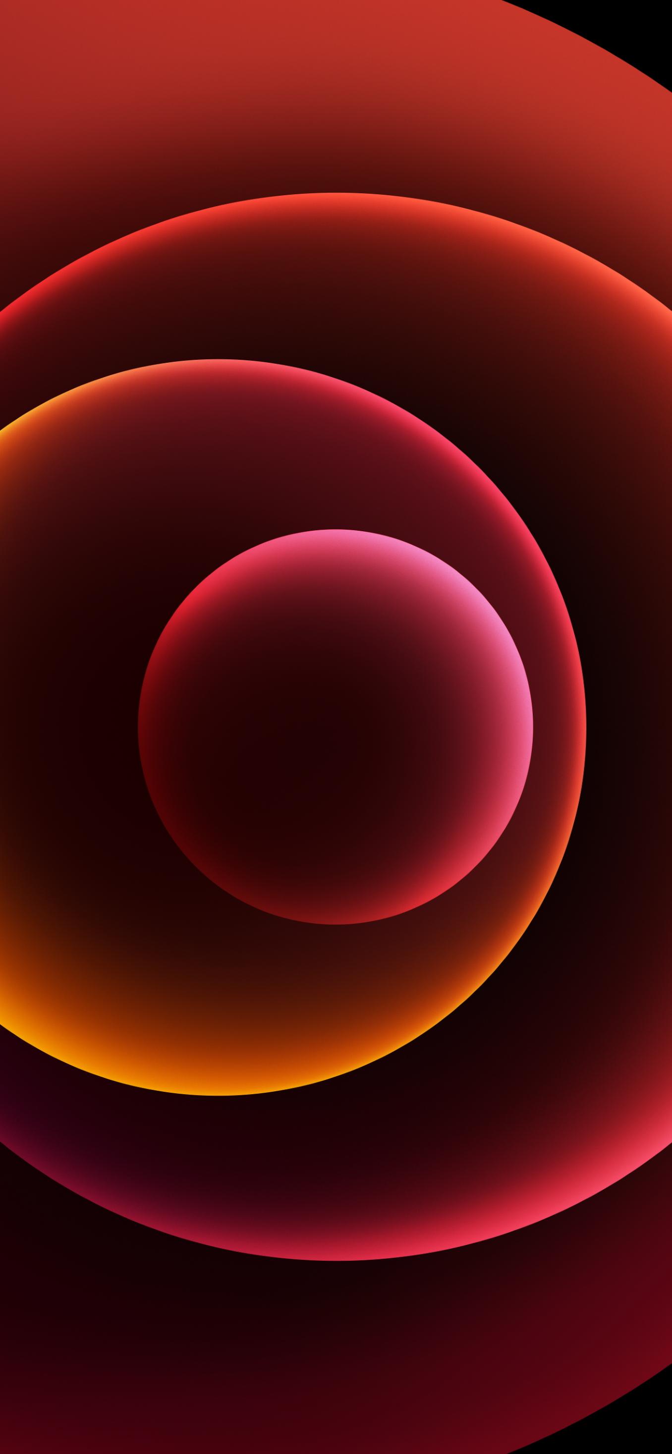 Hình nền iPhone 12 đỏ đen