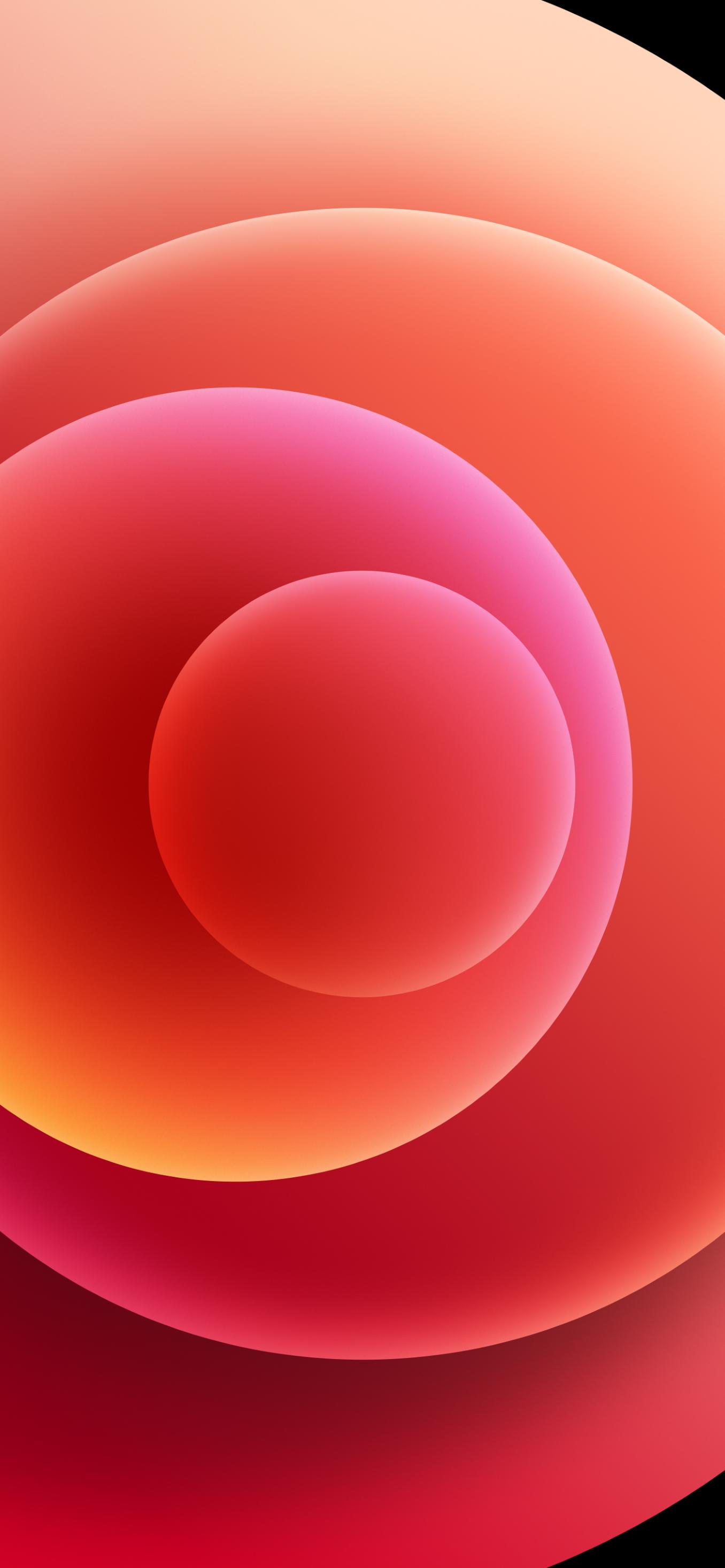 Hình nền iPhone 12 đỏ sáng