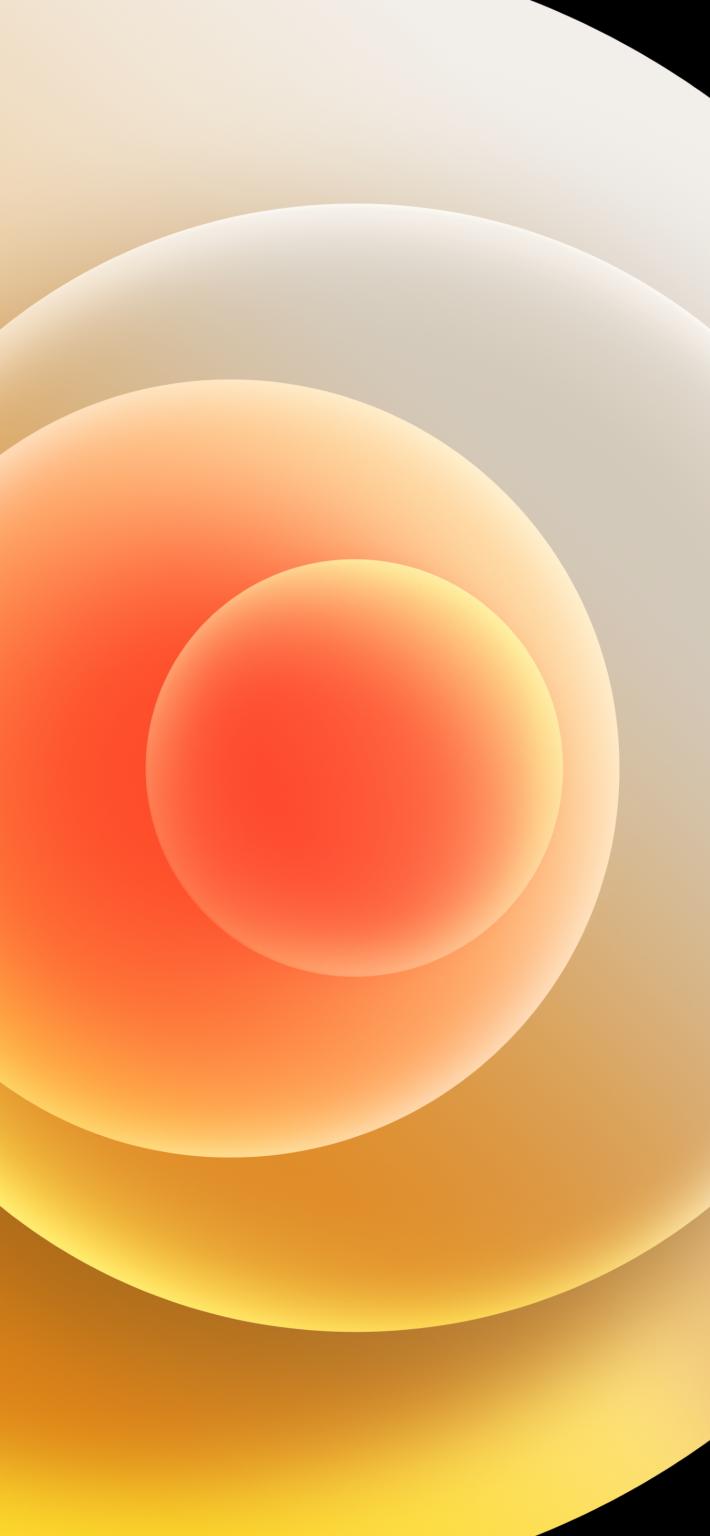 Hình nền iPhone 12 vàng sáng