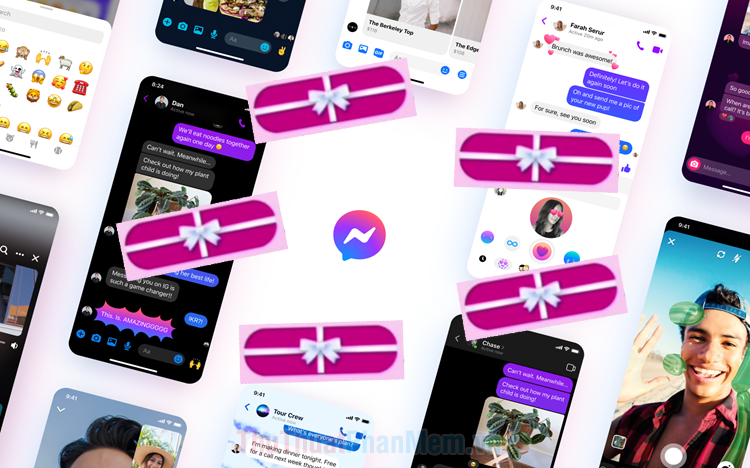 Cách gửi tin nhắn hộp quà trên Messenger