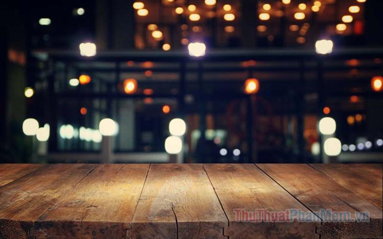 Background bàn gỗ đẹp
